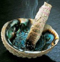 smudge stick incenso indiani america